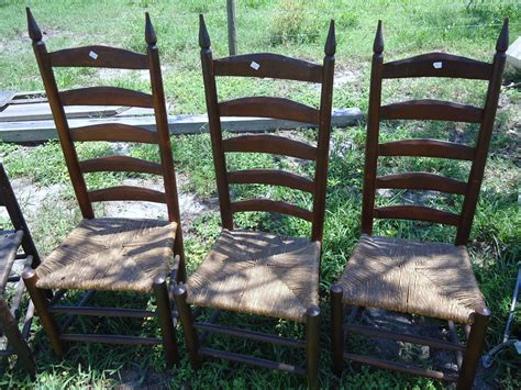 Ladder Back Seat Chairs by Oak Ladder Back Chairs Seats Ladder Back Chairs