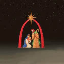 lights nativity 3 pc 72 quot chenille nativity scene kmart