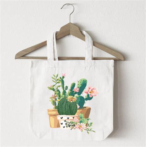 Hello Kaktus Totebag tote bags artisticmoods