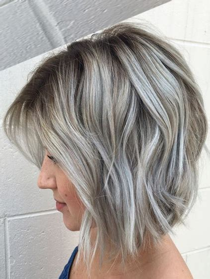 Wedding Hairstyles For Grey Hair by Gray Hair Colour Ideas Best Hair Color 2017