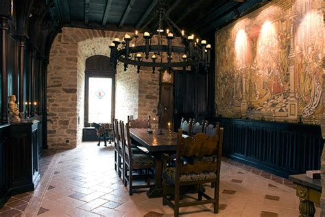 castle dining room the history of montbrun castle