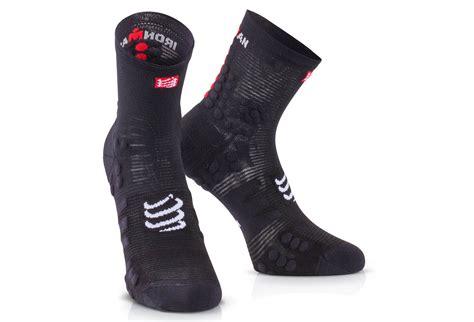 Compressport Pro Racing Socks V3 Bike Black compressport ironman proracing socks v3 run high black alltricks