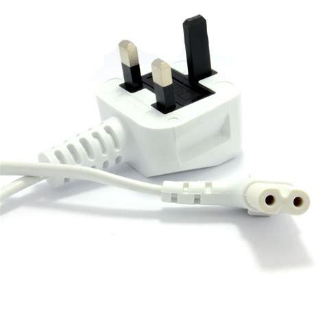 Limited Edition Kabel Power Cpu Ac Cord 1 8m Hq 2m rechtwinklig figure 8 hauptkabel c7 zu uk stecker stromkabel wei 223 007691 ebay