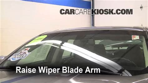 how to fix cars 2011 ford taurus windshield wipe control front wiper blade change ford taurus 2010 2015 2011 ford taurus sel 3 5l v6