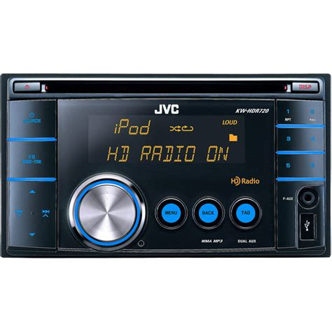 Polk Isonic Hdxm Radio Dvd Player by Jvc Kw Hdr720 2 Din In Dash Cd Receiver With Ipod Iphone