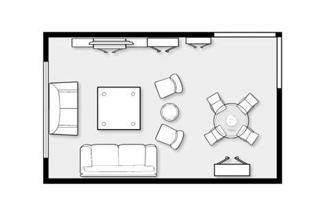 decoration living room floor plans layout