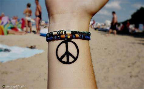 tattoo peace love empathy tattoo fotoblog stupidgirl flog pl