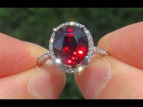 Hq Orange Garnet certified estate flawless unheated spessartite garnet