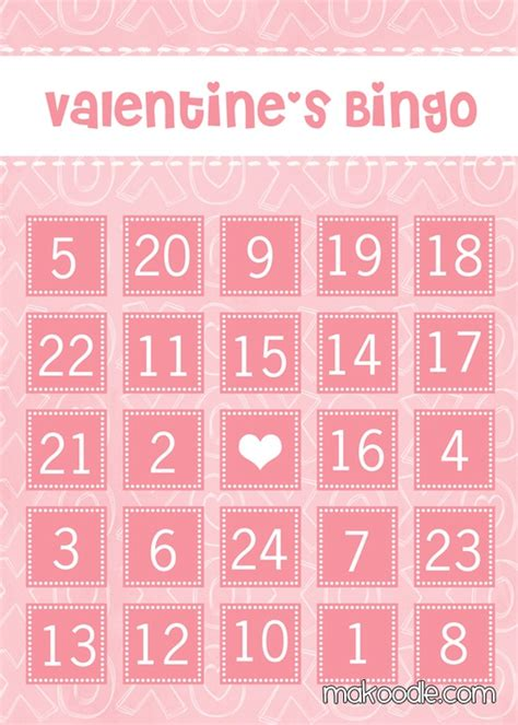 conversation hearts bingo cards template sweetfunkyvintage more goodies for you to enjoy