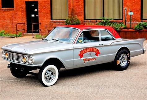 1962 mercury comet gassers mercury and ford