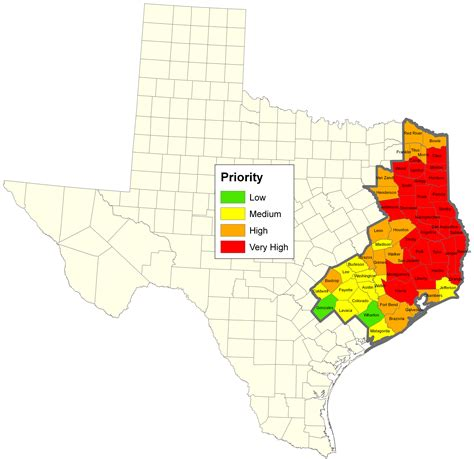 texas forests map texas forests map my