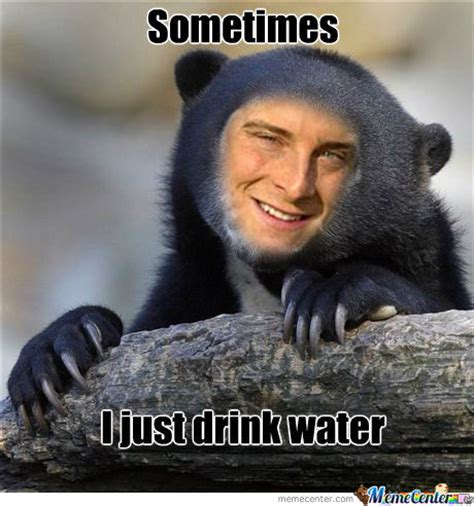 Bear Grylls Blood Meme - bear gryll funny meme pictures to pin on pinterest pinsdaddy