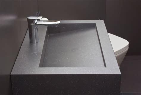 waschtisch mit ablaufrinne vidrostone interieur minimalistischer waschtisch vanity