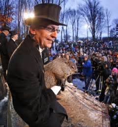 groundhog day town groundhog day deadlock punxsutawney phil sees his shadow