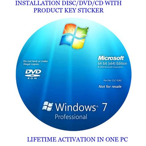 Windows Dvd 7 Original windows 7 professional 64 bit installation format hdd