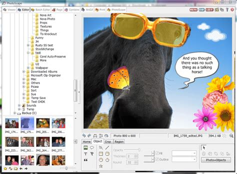 x edit layout editor software photoscape review free image editing software