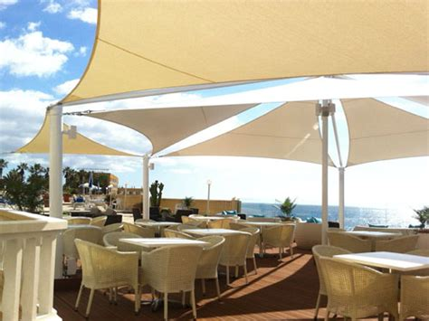 sail canopies and awnings tensile patio shading modern patio outdoor