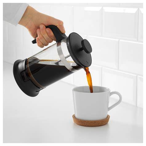 Coffee Tea Maker upphetta coffee tea maker glass stainless steel 1 l ikea