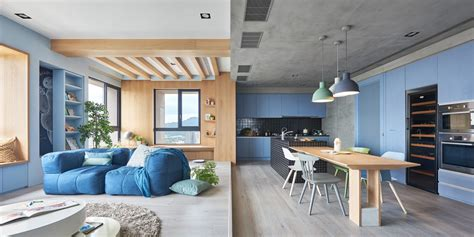 design milk apartment a playful apartment in taiwan for a modern family