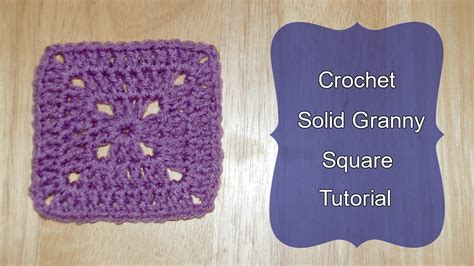 youtube tutorial crochet granny square solid granny square crochet tutorial crochet jewel youtube