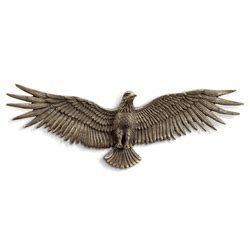 when the iron eagle flies wrought iron metal wall decor