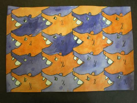 animal tessellations tessellation animal project 4th grade school
