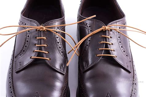 Blues Shoelace Brown ways to lace shoes the derby shoe gentleman s gazette