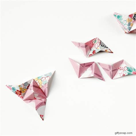 Origami Wall Diy - things i ve made from things i ve pinned diy 3d origami