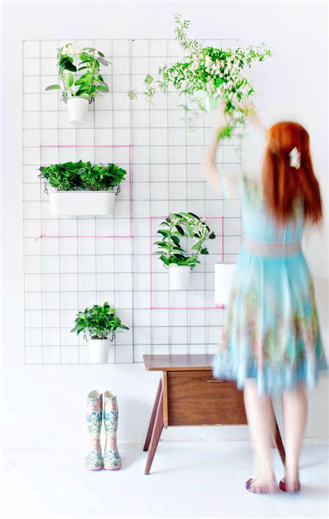 diy wall planters teach    greenify  home