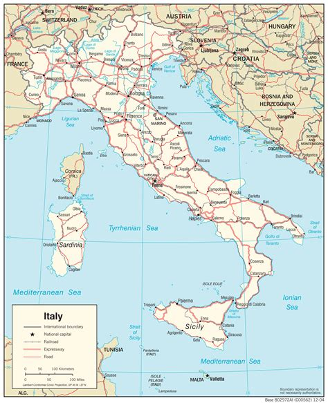 map of and italy italy maps perry casta 241 eda map collection ut library