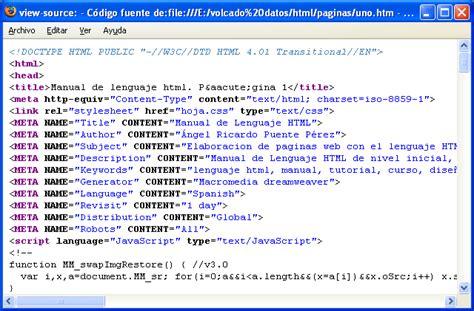 imagenes lenguaje html manual de lenguaje html p 225 gina 1