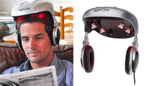 hair growth laser helmet igrow hair raising how a helmet firing lasers into follicles