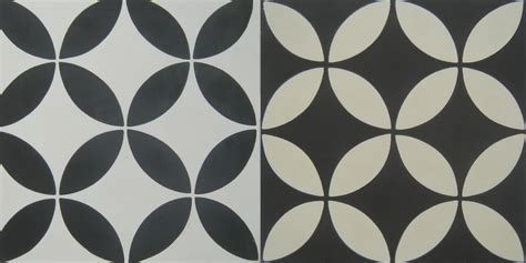 cement tile circulos black cement tile shop blog
