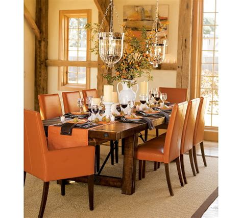 fall dining room table decorating ideas decorations for adults green or orange