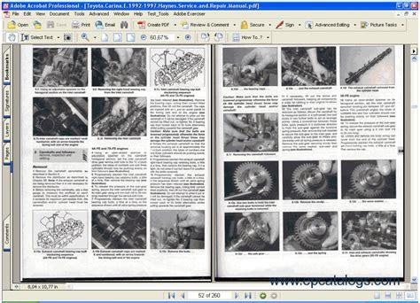 toyota manual carina e 1992 1997 repair manuals download wiring diagram electronic parts toyota manual carina e 1992 1997