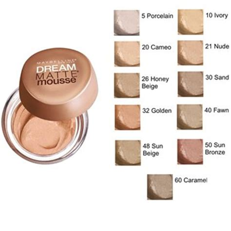 Maybelline Matte Mousse Foundation Lifeandlooks