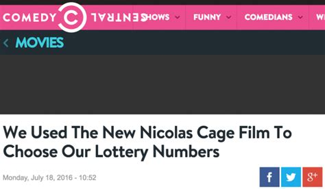 nicolas cage film wins lottery things that ed jefferson did on the internet some fool