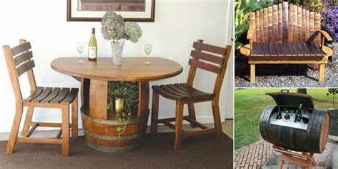 Wine Barrel Design Ideas by 25 Awesome Recycled Wine Barrel Ideas Plumber Of Utah