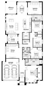 House Designs Plans Floor Plan Friday Large Family Home
