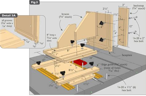 table saw jig plans free table plan software free