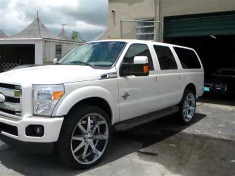 2013 ford excursion 2013 ford excursion duty rolling on 28s hd