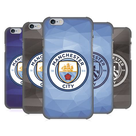 Casing Iphone 6 Custom Jersey Manchester City manchester city city fc badge geometric back for apple iphone phones ebay