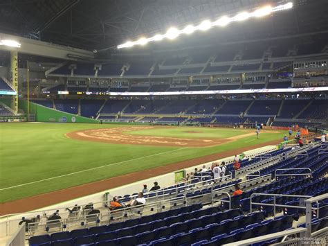 what is section 25 marlins park section 25 miami marlins rateyourseats com