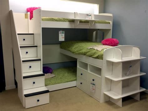 Bunk Beds For Triplets Awesome Bunk Bed Designs For Triplets