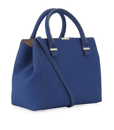 beckham quincy tote in blue royal lyst