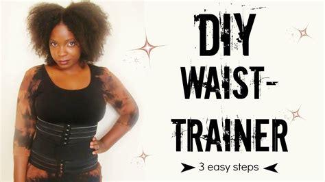 how to make waist diy waist trainer