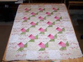 Size Of Baby Quilt For Crib Baby Rosebud Quilt Crib Size By Rphillipsstudio Craftsy