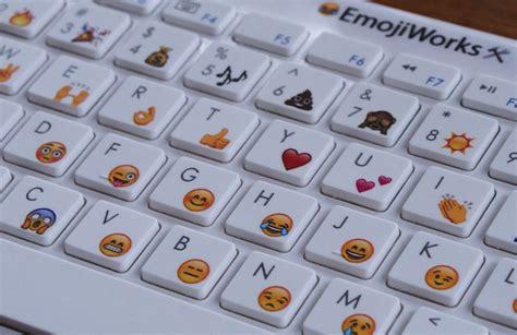 emoji mac physical emoji keyboard for mac iphone and ipad from