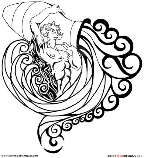 aquarius symbols tattoo designs 35 cool aquarius designs sign tattoos aquarius