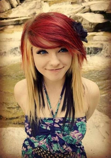 how to do emo hairstyles 10 popular emo hairstyles for girls faceshairstylist com